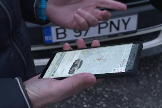 Mașini închiriate prin intermediul unei aplicații. Cât costă serviciile de car sharing