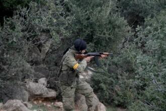 Armata turcă a ucis peste 360 de luptători kurzi și islamiști, pe teritoriul sirian
