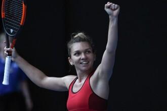 Simona Halep a fost desemnată jucătoarea lunii ianuarie