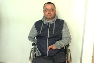 Un bărbat fără mâini şi picioare din Moldova, condamnat pentru că