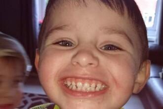 Un copil de 3 ani s-a spânzurat accidental dându-se pe tobogan