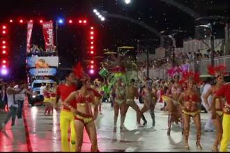 Carnavalul din Paraguay: Dansatoarele de samba au dat startul petrecerii