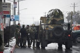 Atac asupra unei universități militare, din Kabul