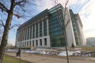 Control la Biblioteca Naţională, după petrecerea de Revelion din sediu