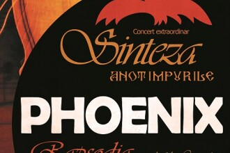 """Proiect inedit al trupei Phoenix. Turneul """"Sinteza - Rapsodia"""" începe în 10 februarie"""