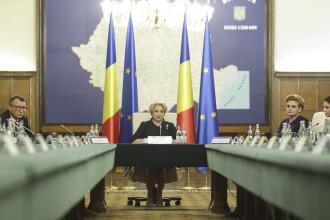 Viorica Dăncilă, în prima ședință de Guvern: Am transmis SPP că nu vreau protecție