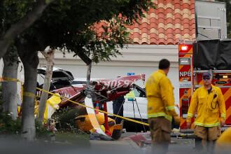 Un elicopter s-a prăbușit peste o casă din California: 3 morți. VIDEO