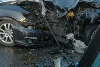 Cum a fost găsit un șofer din Constanța în mașină, după un accident. FOTO