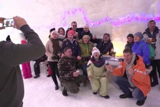 """20 de britanici, Revelion în hotelul de gheaţă de la Bâlea Lac. """"E ieftin și e o ocazie unică"""""""