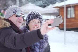Distracție în prima zi din an pe pârtiile de schi. Unii turiști au fost amendați de Poliție