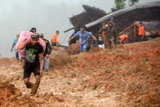 Alunecări de teren în Indonezia. Autoritățile anunță 15 morți