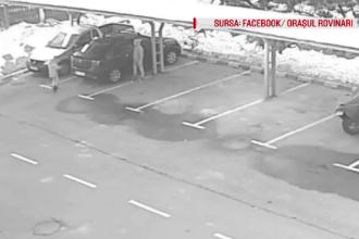 Zeci de șoferi au găsit de Anul Nou roțile sparte. Surpriza a venit când s-au uitat pe camere