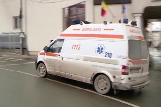 Accident rutier grav pe A 1. Șapte persoane au fost transportate la spital