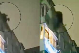 Cum au încercat doi bărbați să intre într-un apartament din Râmnicu Vâlcea. VIDEO