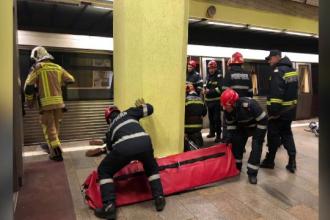 Anchetă după tragedia de la metrou. Cum a reușit victima să pătrundă în tunel