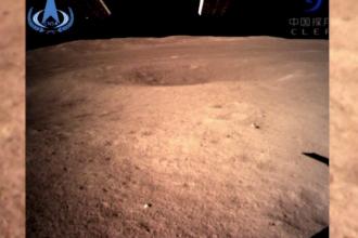 Prima fotografie făcută vreodată pe faţa nevăzută a Lunii. Ambițiile chinezilor