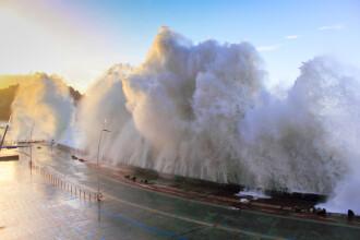 Tsunamiul care a devastat sudul Chinei acum 1000 de ani. A creat un veritabil zid de apă