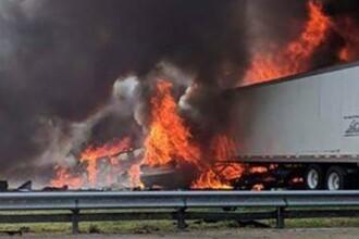 Accident în lanţ pe o autostradă din Florida soldat cu 7 morţi şi mai mulţi răniţi