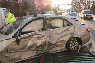 Greșeala unui șofer român a băgat 5 oameni în spital: