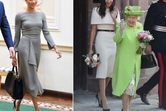 Cât au costat rochiile purtate într-un singur an de Ducesa de Sussex