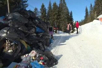 Staţiunea unde mormanele de gunoaie sunt mai înalte decât muntele. Reacţia primăriei