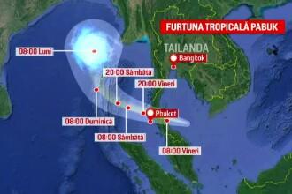 Furtuna tropicală Pabuk afectează și români aflați în vacanță în Thailanda. Ce spun turiștii