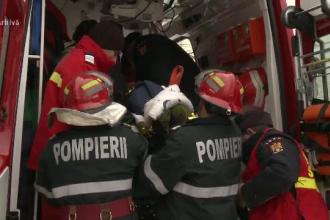 A ajuns la spital, după ce a căzut de la etajul școlii gimnaziale din Bod. Starea fetei