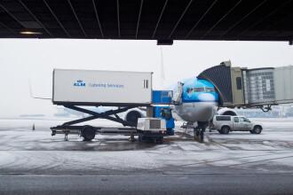 159 de zboruri ale companiei KLM, anulate din cauza unei furtuni
