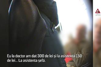 Șpaga, boala pe care spitalele românești nu o pot trata. Cât mai lasă pacienții în plic