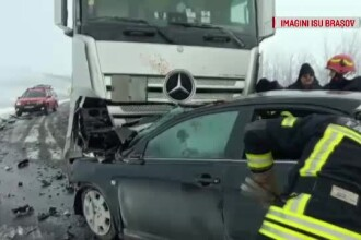 Accident grav în Brașov: o femeie din Republica Moldova a murit