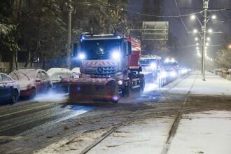 Ninsori, lapoviţă şi polei în Bucureşti în următoarele 2 zile. Stratul de zăpadă depus