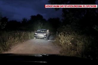 Lupta încrâncenată dintre o poliţistă şi un suspect căutat pentru crimă, filmată