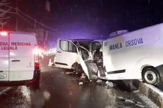 4 morţi în accidente în lanţ, în Mehedinţi.