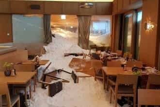 Mai mulți răniți după ce o avalanșă a distrus un hotel din Alpii elvețieni
