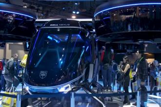 Uber a prezentat taxiul zburător al viitorului la CES 2019