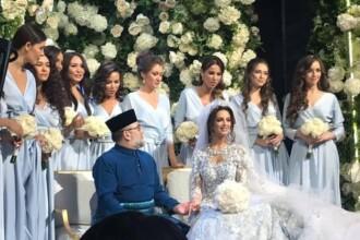 Regele care s-a căsătorit cu o regină a frumuseții din Rusia a abdicat