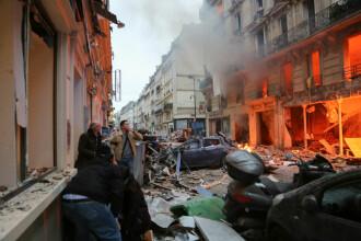 Explozie puternică într-o zonă turistică din Paris. Cel puțin 3 morți și zeci de răniți