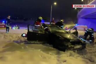 Un tânăr din Braşov şi-a băgat prietenii în spital, cu răni grave, după o manevră greşită
