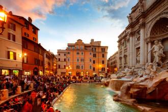 Scandal între Biserică şi primărie pe banii din Fontana di Trevi. Suma uriaşă strânsă