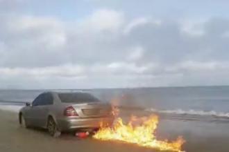 Românul Strugurel Lingurar i-a revoltat din nou pe irlandezi. De ce şi-a incendiat maşina