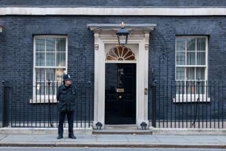 Livrare bizară la sediul Guvernului britanic, înainte de votul privind Brexit