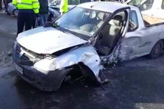 Accident grav în Argeș, după ce un șofer nu s-a asigurat