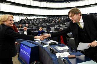 Dăncilă a fost criticată în Parlamentul European. Ce avertisment dur a primit premierul