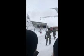 Momentul în care un hotel e îngropat sub zăpadă de o avalanșă. Ce au păţit turiştii