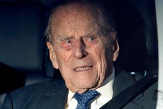 Prințul Philip a fost implicat într-un accident rutier. S-a răsturnat cu mașina