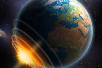 Numărul asteroizilor care au lovit Terra şi Luna a crescut în ultimii 290 de milioane de ani