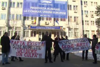 Proteste în Râmnicu Vâlcea, după ce doi copii au ajuns în stare gravă în Capitală