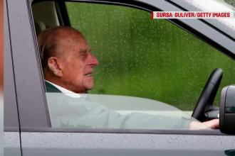 Vestea neașteptată primită de prințul Philip după accidentului pe care l-a provocat