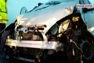 Accident cu 3 răniți lângă Timișoara. Ambii șoferi erau băuți