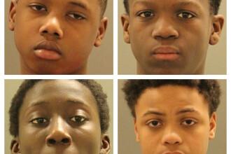 Patru minori sunt acuzați că au răpit și violat o adolescentă